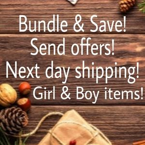 MAKE OFFERS BUNDLE Bundle and save at least15%!